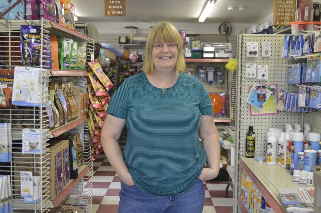 Debbie Hope, owner of Dixon Feed in West Lorne, was awarded Small Business of the Year by the Elgin Business Resource Centre. Hope took over the business from founder Dave Dixon in 2016, keeping the business owned and operated out of the small West Elgin town. (Louis Pin/Times-Journal)
