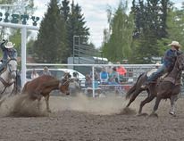 Kendal Pierson and Cole Brain were crowned the AJHSRA Provincial Team Roping Champion in Nanton on May 3, and will be heading to the National Junior High School Rodeo Championships in Huron, South Dakota June 24–30.