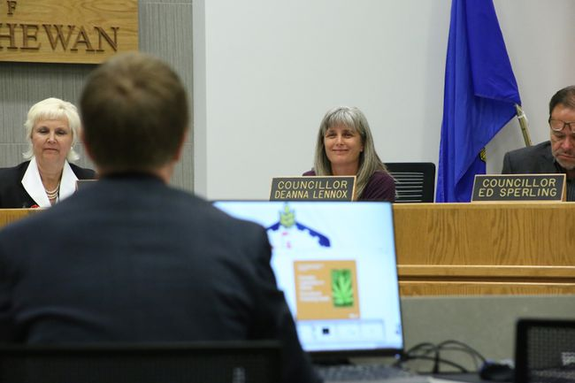 City Coun. Deanna Lennox put forward a motion during the June 12 regular council meeting asking the updates to the Fort's smoking bylaw be pushed back until August.