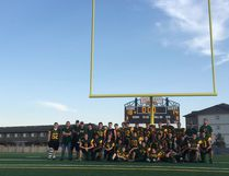 With a packed grandstand of more than 1,000 spectators, Fort High won 18-14 against Westlock Thunderbirds in an exhibition game during the grand opening of Taurus Field on June 8.
