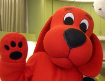 Clifford the Big Red Dog will make an appearance at the TD Summer Reading Club kickoff party on June 23 at the Brantford Public Library's main branch. (PAT MCGRATH/Postmedia file photo)