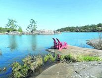 The Killarney Channel draws boaters to the newly expanded docks at Killarney Mountain Lodge. Sail and motor cruises are available and guests can use kayaks and bicycles free of charge. The resort also has an outdoor pool. (HANK DANISZEWSKI, The London Free Press)