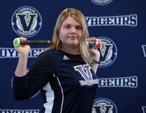 Julia Jodouin, a 17-year-old Sudbury native and national-level baseball standout, has committed to play for the new men's varsity team at Laurentian University, where she has enrolled in the bachelor of science in nursing program. Photo supplied