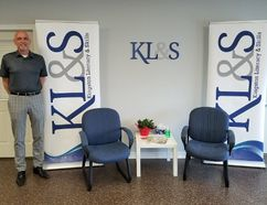 Chuck Dowdall, Executive Director with Kingston Literacy & Skills, at their brand new space in Napanee. (Supplied photo)