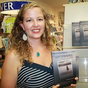 Jennifer Farquhar is hitting the road to celebrate the release of her debut novel, Watermark. Facebook photo