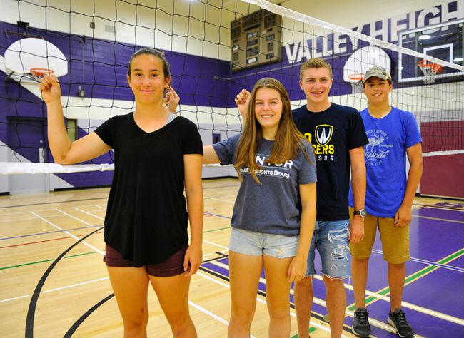 Valley Heights Secondary School recently held its Athletic Awards Banquet. The athletes of the year were Paige Wiggans, Claire Weaver, Riley Fitch, and Noah Hamm. JACOB ROBINSON/Simcoe Reformer