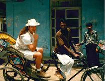 Bill Welychka in India in 1995. Supplied Photo.