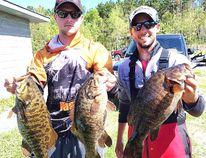 Ramsey Lake champions for Nickel City Bass. Photo supplied