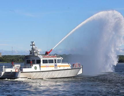 A fireboat similar to but smaller than the one MetalCraft Marine delivered to the New York City Fire Department in 2015 will be discussed as a replacement for Kingston Fire and Rescue's current boat, which has surpassed its time of usefulness.