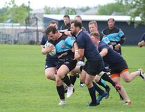 The Fort McMurray Knights play a rough game of rugby against the Edmonton Clansmen, winning 51-24 on Satuday, June 23, 2018, at Westwood Community High School in Fort McMurray, Alta. Laura Beamish/Fort McMurray Today/Postmedia Network