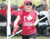 Kalli Cooper celebrated Canada Day 2017 with full national pride. Festivities for July 1, 2018 promise to be just as fun filled, with a few minor tweaks to the schedule to allow for maximum enjoyment.