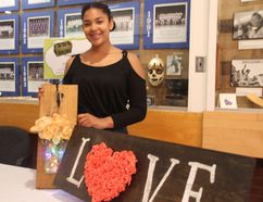 <p>Zaria Primeau has opened her new home decor business, Wooden Treasures as part of the city's Summer Companies Program on Friday June 29, 2018 in Cornwall, Ont. </p><p> Alan S. Hale/Cornwall Standard-Freeholder/Postmedia Network
