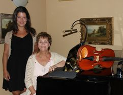 <p>Classiqu'Arts Producer Danielle Vaillancourt and artistic director Therese Motard on Tuesday July 3, 2018 in Cornwall, Ont. The second-annual Classiqu'Arts at St. Raphael's Ruins will be held in August.</p><p> Lois Ann Baker/Cornwall Standard-Freeholder/Postmedia Network