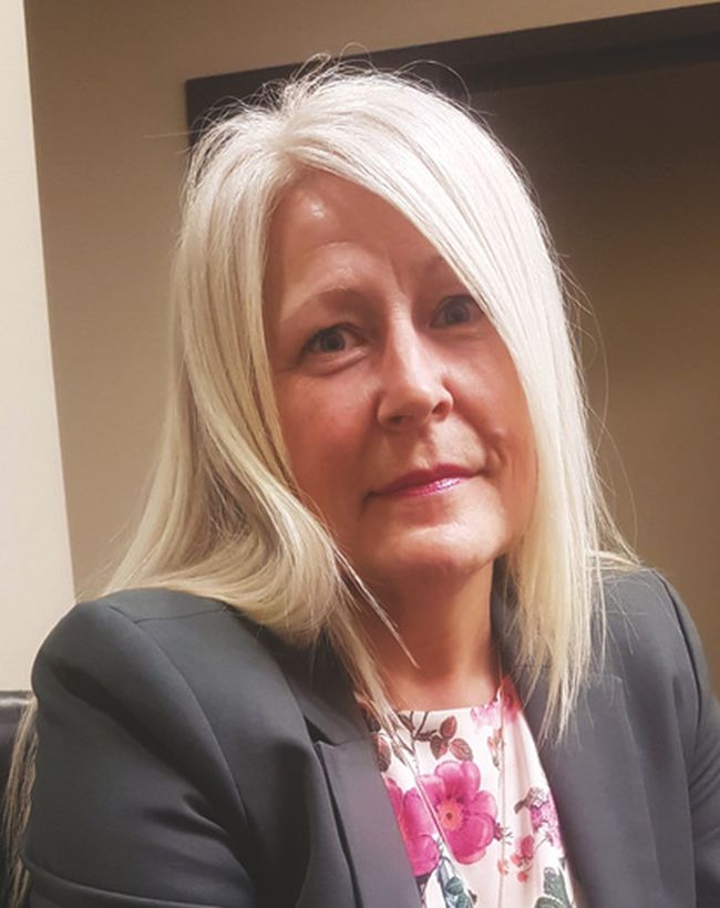 Sherry Poole, Vulcan County's economic development officer.
