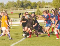 All three LA Crude Rugby teams have been enjoying successful seasons thus far. (Photo courtesy of Angelena Tuck)