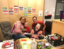 Sherwood Park Grade 4 student Sydney Gray and her family were surprised on June 27 by the Make A Wish Foundation in Sydney's Wes Hosford Elementary School classroom, sending the family to DisneyWorld in early-September. Photo Supplied