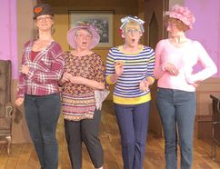 <p>Stephanie Folkins Brenda Quesnel, Heather Dick and Alanis Peart star in the latest comedy playing at the Upper Canada Playhouse, which began on July 5 and runs through to July 30, 2018.</p><p> Handout/Cornwall Standard-Freeholder/Postmedia Network