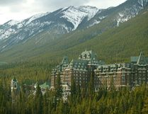 The Fairmont Banff Springs Hotel. Photo courtesy of Mikael Kjellstrom/ Postmedia Network.