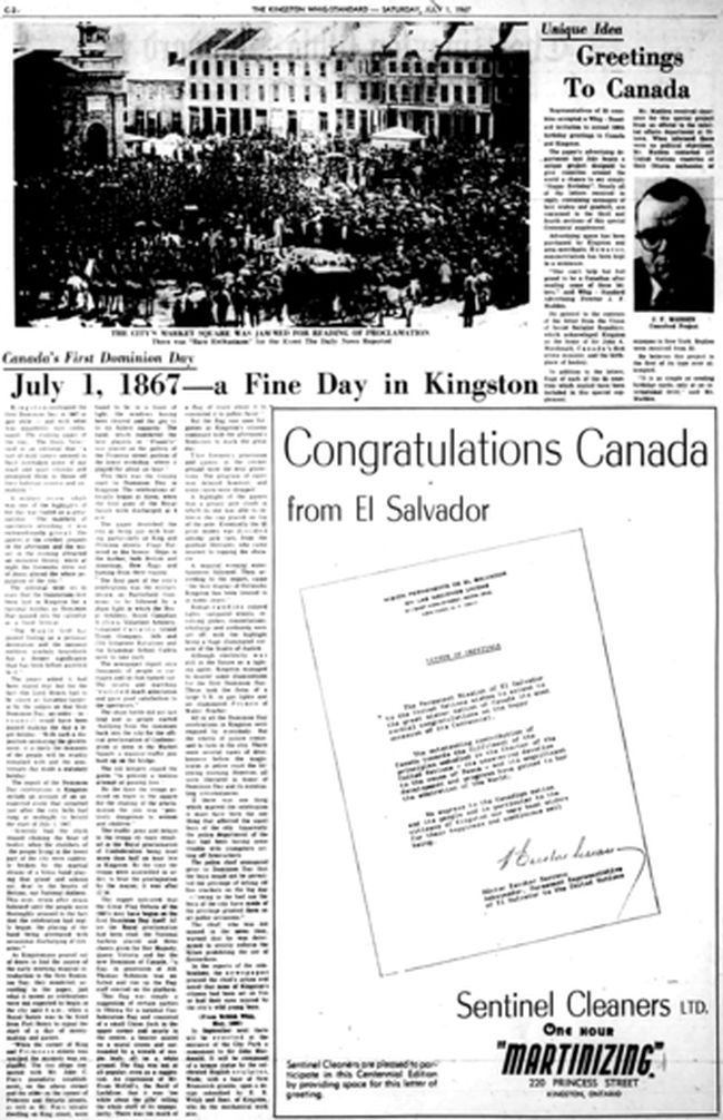 "To download a readable copy of Page C2 from the July 1, 1967, edition of The Kingston Whig-Standard, <a href=""https://drive.google.com/file/d/1Hync0xgritC_oWazgCdSQbbcLZu0zDkR/view?usp=sharing"" target=""new window"">click here.</a>"