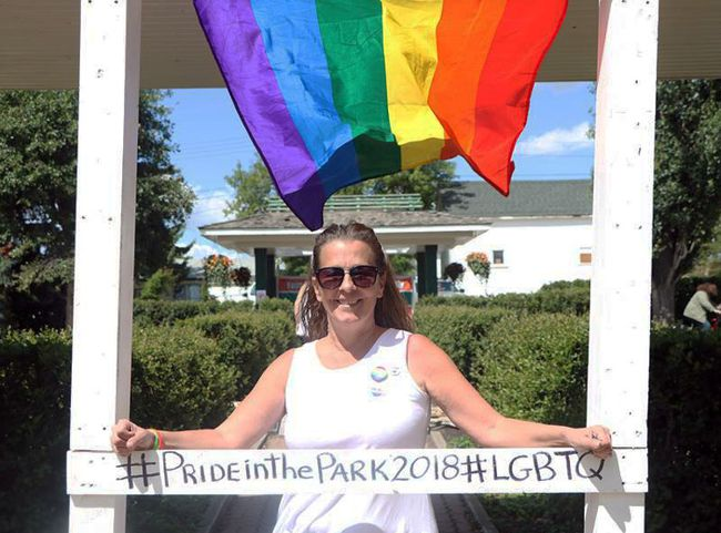 Tannis Matthews, one of the key organizers of Pride in the Park, says she will continue to spearhead the event in the coming years after 2018's success.   Photo by Patrick Davies Reporter/Examiner