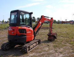 <p>A power shovel sits on the acre of property Supercentres REIT is in the process of purchasing to add to its plaza, on Monday July 9, 2018 in Cornwall, Ont. </p><p> Alan S. Hale/Cornwall Standard-Freeholder/Postmedia Network