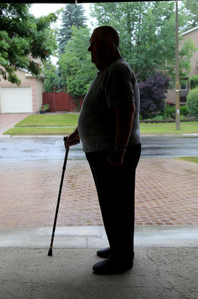 Bill M. a member of the Kingston chapter of Food Addicts Anonymous has lost 120 lbs in less than a year since joining the club last summer. Ian MacAlpine/The Whig-Standard