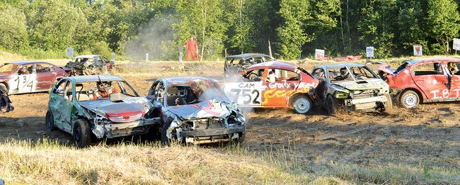 File photo Last year's Blind River Demolition Derby proved to be a smashing good time for many, including the competitors. It runs again this Friday evening.