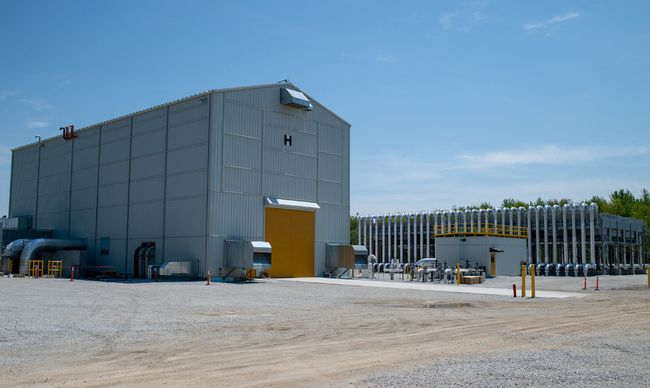 Union Gas has launched its new Dawn H Compressor Station at their Dawn-Euphemia location in Lambton County. The $250-million expansion will help improve operation and increase the giant utility's natural gas capacity. Handout/Postmedia Network