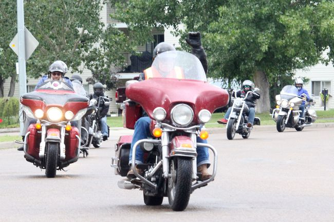The Fort Saskatchewan Motorcycle Association's Cancer Ride raised more than $6,000 on July 7. Since 1983, the club has raised more than $330,000 for Edmonton's Cross Cancer Institute.