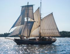 The TS Playfair is docking in Sarnia on Saturday and Sunday. The vessel could be one of eight-10 in Sarnia for a tall ships festival next year. Handout/Postmedia Network