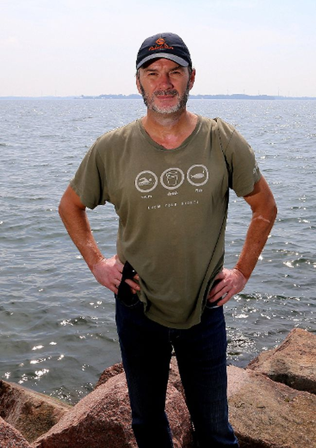 Lake Ontario Waterkeeper founder and president Mark Mattson, along with musician/author Dave Bidini, started the Joe Burke Literary Festival on Wolfe Island in 2004. This year's edition takes place from 3 to 6 p.m. on Saturday. Ian MacAlpine/Whig-Standard file photo