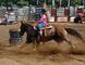 Sonya Roehrig, of Guelph, competes in the junior barrel racing event at the Norfolk Ram Rodeo held in Nixon on the weekend. Vincent Ball/Postmedia News