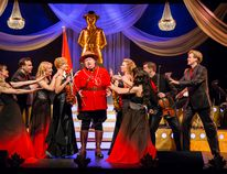 Neil Aitchison (center) stars as Constable Archibald F. Inkster in Canada 151: Better Late Than Sorry, which plays at Grand Bend's Huron Country Playhouse from July 12 to Aug. 4. Handout/Postmedia Network