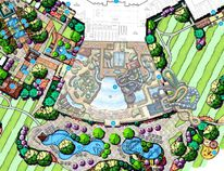 The $115-million Aquaworld Resort is proposed for Augusta Township. (Courtesy of Aquaworld)
