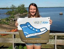 Petawawa's Ruby Pilatzke was the Top Fundraiser at the 2018 Sun Life Walk to Cure Diabetes for the Juvenile Diabetes Research Foundation (JDRF) in Ottawa, raising an impressive $12,034.