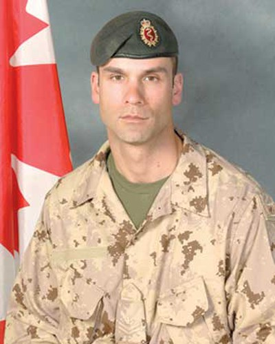 Master Cpl. Christian Duchesne, Aug. 22, 2007:  Also a father of three from Montreal, Duchesne was a medical technician with 14 years of military service. He was mourned as a great father and reliable friend. Duchesne was killed at the age of 34 when his light armoured vehicle was struck by roadside bomb after a battle for a strategic hill west of Kandahar. (Hand-out)