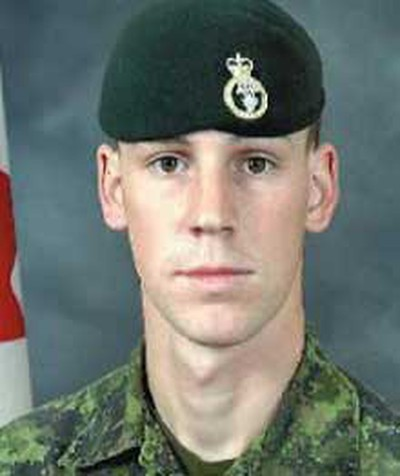"""Cpl. Michael Seggie, Aug. 20, 2008: The 21-year-old from Winnipeg was described as living life to the fullest and being extremely close to his family. Colleagues described him as """"cool under fire"""" and a great communicator. He was just two weeks shy of returning home from duty when he was killed. (Hand-out)"""