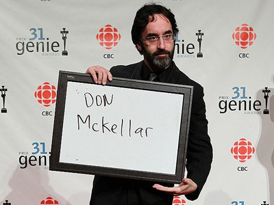Don McKellar poses for photos on the red carpet during the Genie Awards at the National Arts Centre in Ottawa Thursday March 10, 2011. (TONY CALDWELL/QMI AGENCY)