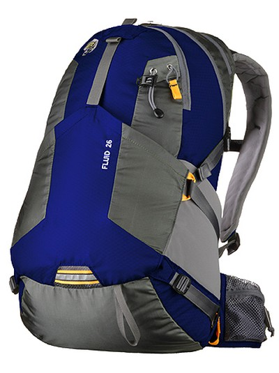 Hit the road, Jack. Pack it all in with the Fluid 26 by Mountain Hardwear. This roomy, lightweight day pack features lots of organization and a CoolWave suspension to keep you comfortably cool. On-The-Fly compression ensures what you've packed stays glued to your back; $110, www.mountainhardwear.ca.