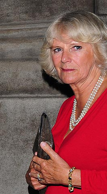 Ring: An Art Deco-inspired emerald-cut diamond, with three baguettes on each side. Worn by: Camilla Parker Bowles Estimated worth: Priceless - it's a Windsor family heirloom. (Tony Clark/WENN.COM)