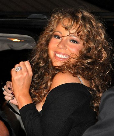 Ring: 17-carat diamond. Worn by: Mariah Carey Estimated worth: $2.5 million. Hubby Nick Cannon worked with jewelry maker Jacob & Co. to design the ideal ring for his bride. (WENN.COM)
