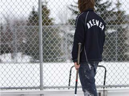 Lacrosse player Ross Feser is hoping his group can secure a lease from the city for a new indoor lacrosse facility to be built. (AARON ARMISHAW photo/Special to the Calgary Sun)