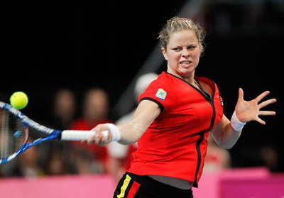 Although she was only 24 at the time, tennis player Kim Clijsters announced her retirement in 2007 citing her injuries as the main reason for her decision. Two years later however, Clijsters returned to the sport playing in at an exhibition event on Wimbledon's Centre Court in May of 2009.  Clijsters is currently still playing tennis and as of February 2011, she was one match victory away from regaining the world No. 1 ranking. (REUTERS/Thierry Roge)