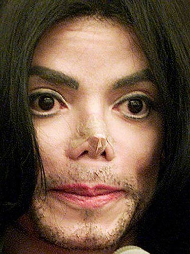 In this Nov. 2002 file photo, Michael Jackson testifies in Santa Maria Superior Court during a trial. If only changing everything were as quick and easy as Mr. Potato Head! (REUTERS)