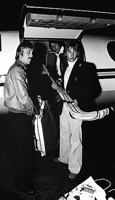 Gretzky turned pro at the age of 17 after joining the Indianapolis Racers of the World Hockey Association (WHA) in May or 1978. After just eight games, the cash-strapped Racers traded him to the Edmonton Oilers. In his first season with the Oilers, Gretzky tallied 46 goals and 110 points to win rookie of the year honours. (QMI Agency)