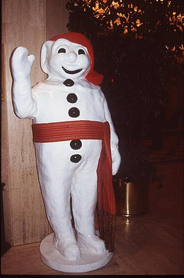 As the Quebec Winter Carnival's mascot, Bonhomme is everywhere! (QMI Agency/Kate Pocock)