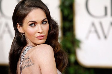 Actress Megan Fox arrives at the 68th annual Golden Globe Awards in Beverly Hills, California, January 16, 2011. REUTERS/Mario Anzuoni