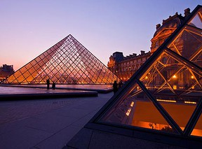 A view of the Louvre in Paris, France. (Shutterstock)