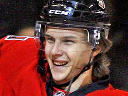 Young Senator Erik Karlsson struggled early in the season, but improved play of late obviously resonates with fans in our mid-season Senators report card. (OTTAWA SUN file photo)