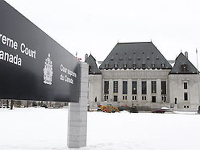 The Supreme Court of Canada is seen Wednesday Dec 22, 2010 in Ottawa. (ANDRE FORGET/QMI AGENCY)